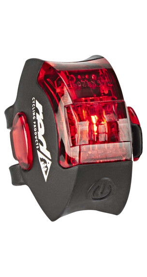 Red Cycling Products Power LED USB Rear Light Oświetlenie czarny